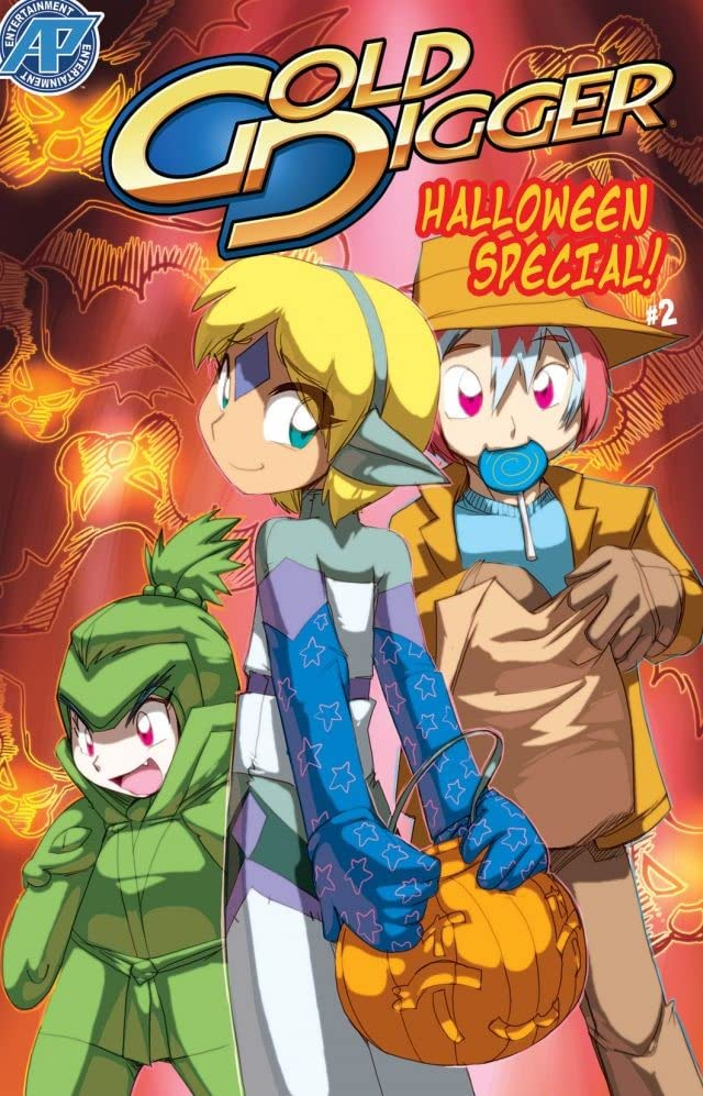 Gold Digger Halloween Special 2006 #2