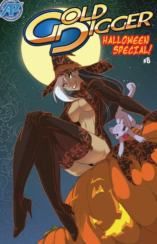 Gold Digger Halloween Special 2012 #8