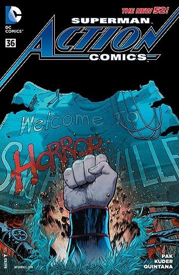 Action Comics (2011-2016) #36