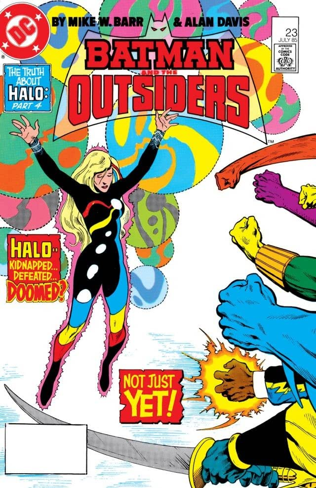 Batman and the Outsiders (1983-1987) #23