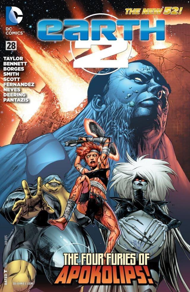 Earth 2 (2012-2015) #28