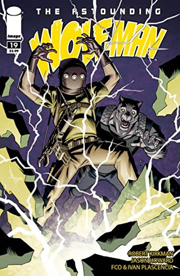 The Astounding Wolf-Man #19