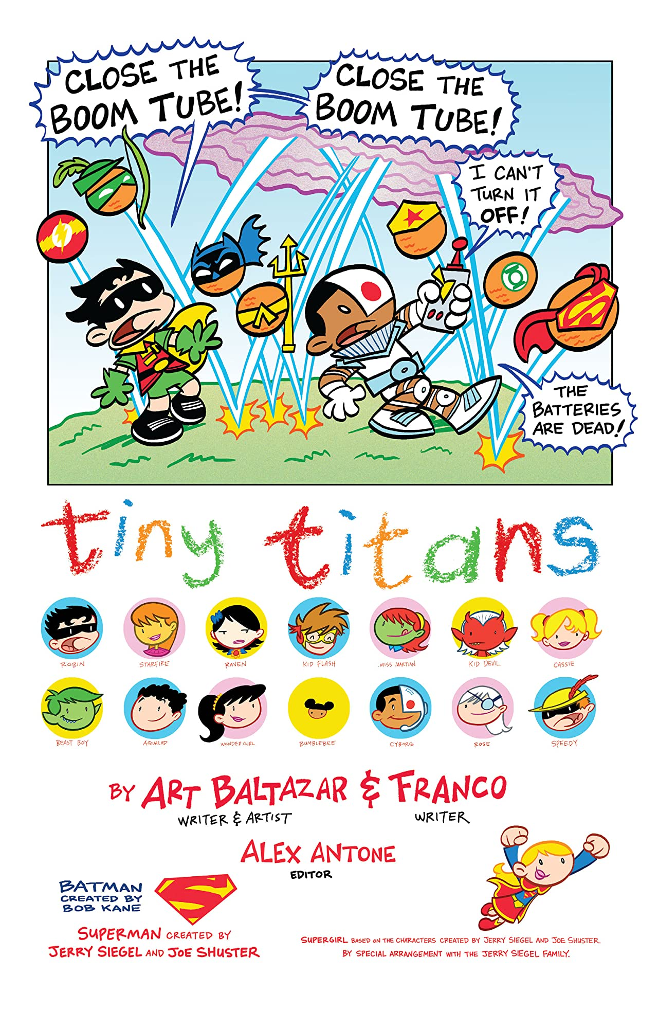 Tiny Titans: Return to the Treehouse #6