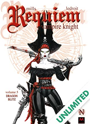 Requiem Vampire Knight Vol. 5: Dragon Blitz