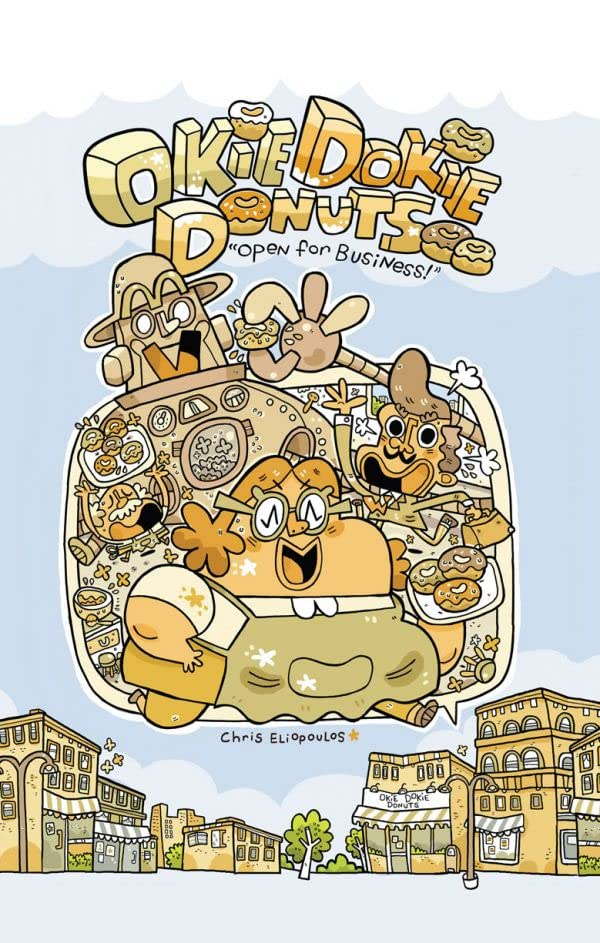 Okie Dokie Donuts: Open For Business!