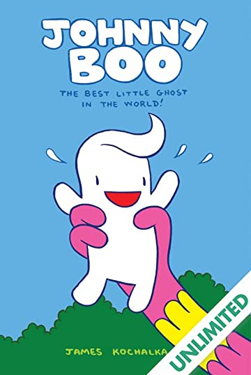 Johnny Boo Book 1: Best Little Ghost in the World