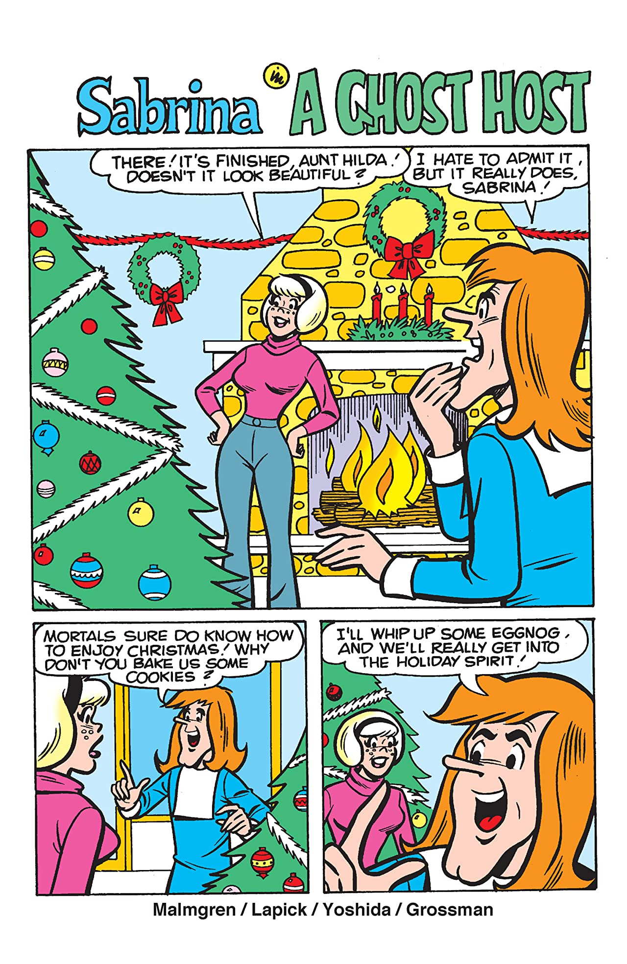 PEP Digital #122: Sabrina's Christmas Magic