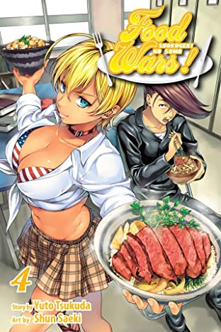 Food Wars! Shokugeki no Soma Vol. 4