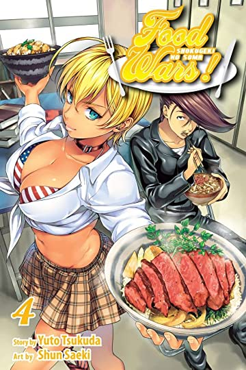 Food Wars!: Shokugeki no Soma Vol. 4