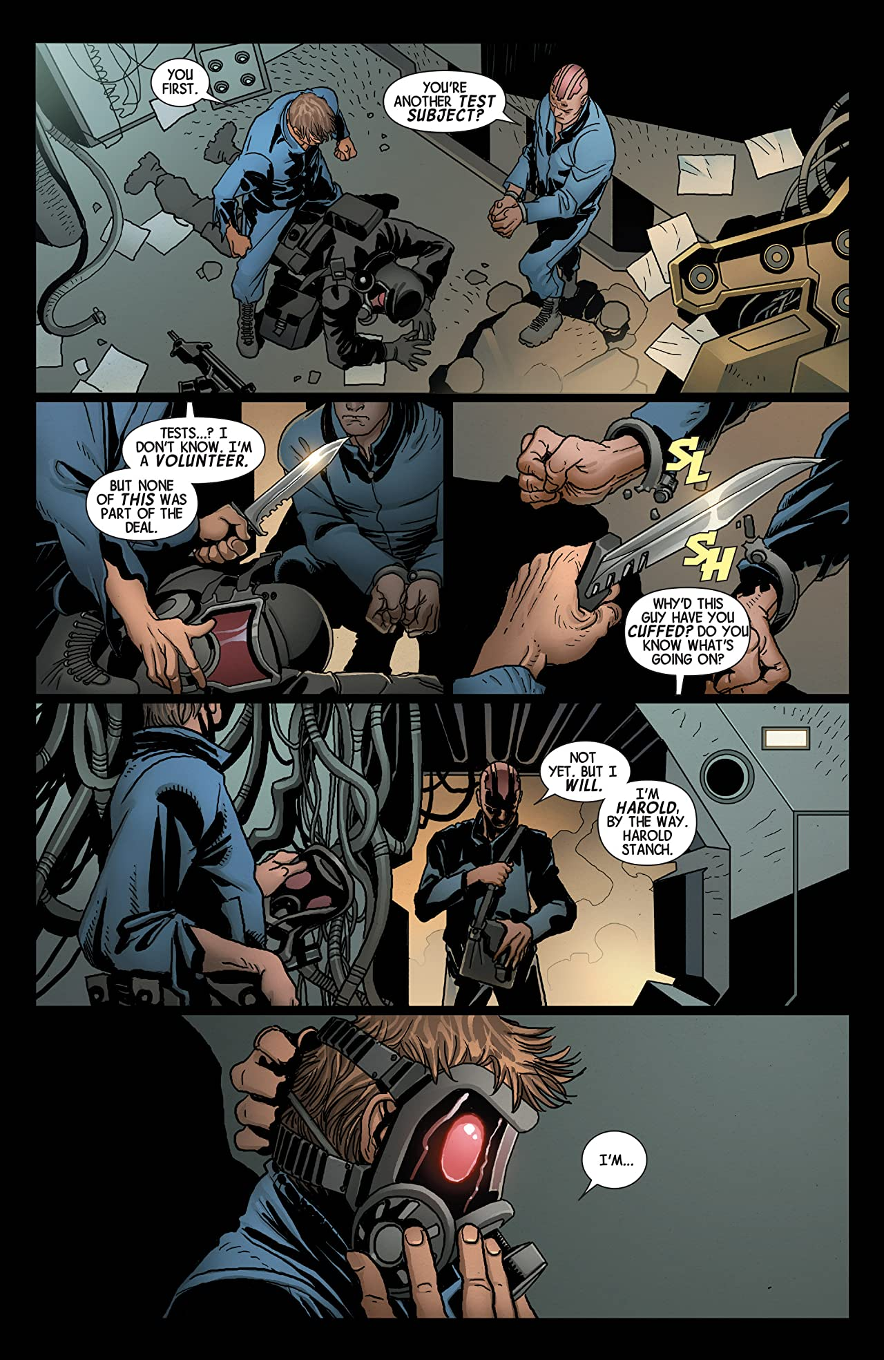 Death of Wolverine: The Weapon X Program #1 (of 5)