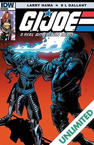 G.I. Joe: A Real American Hero #208