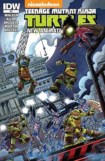 Teenage Mutant Ninja Turtles: New Animated Adventures #17