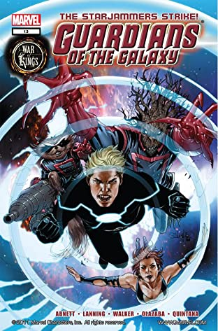 Guardians of the Galaxy (2008-2010) No.13