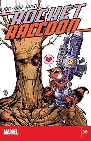 Rocket Raccoon (2014-2015) #5