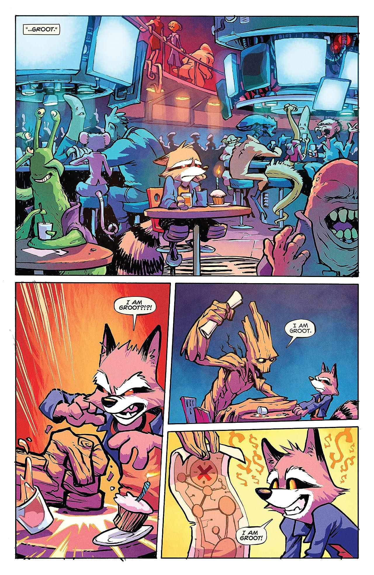 Rocket Raccoon (2014-2015) #5