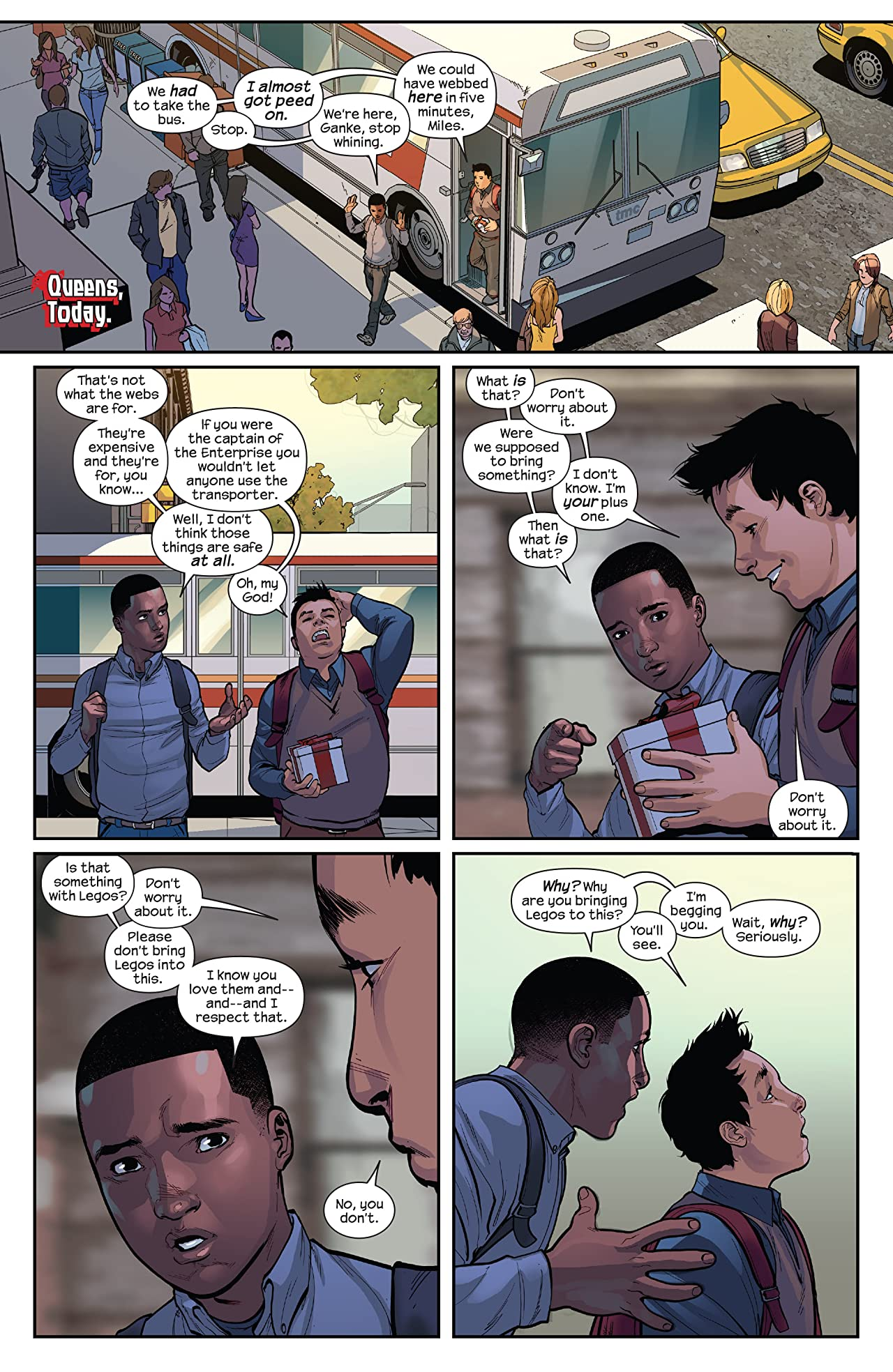 Miles Morales: Ultimate Spider-Man Vol. 1: Revival