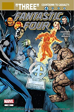 Fantastic Four (1998-2012) No.583