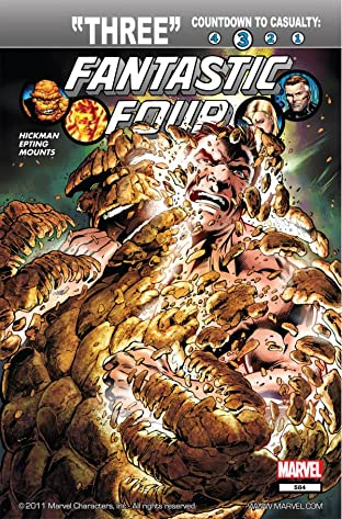 Fantastic Four (1998-2012) No.584