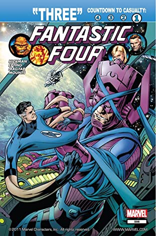 Fantastic Four (1998-2012) No.586
