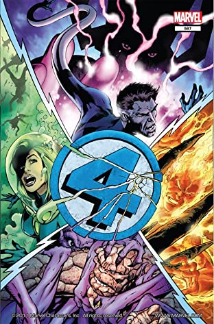 Fantastic Four (1998-2012) No.587