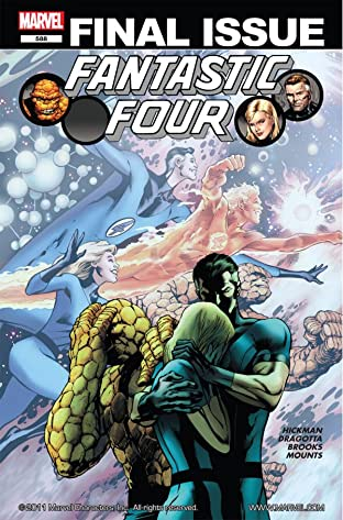 Fantastic Four (1998-2012) No.588