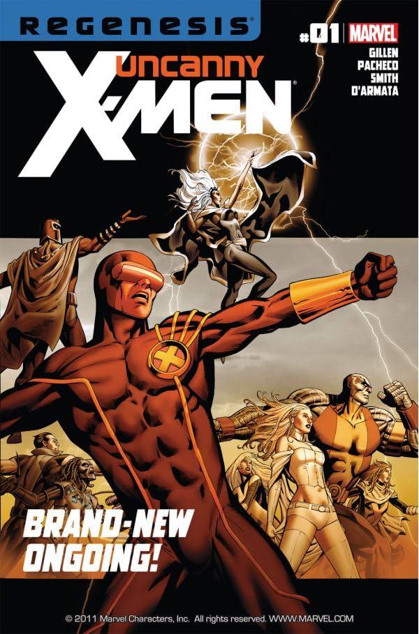 Uncanny X-Men (2011-2012) #1