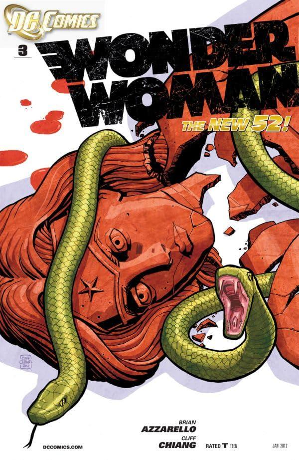 Wonder Woman (2011-) #3