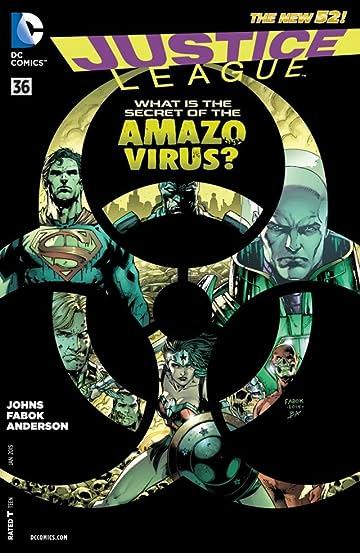 Justice League (2011-2016) #36