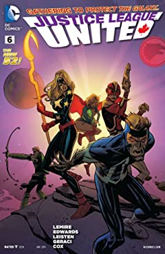 Justice League United (2014-2015) #6
