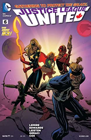 Justice League United (2014-) #6