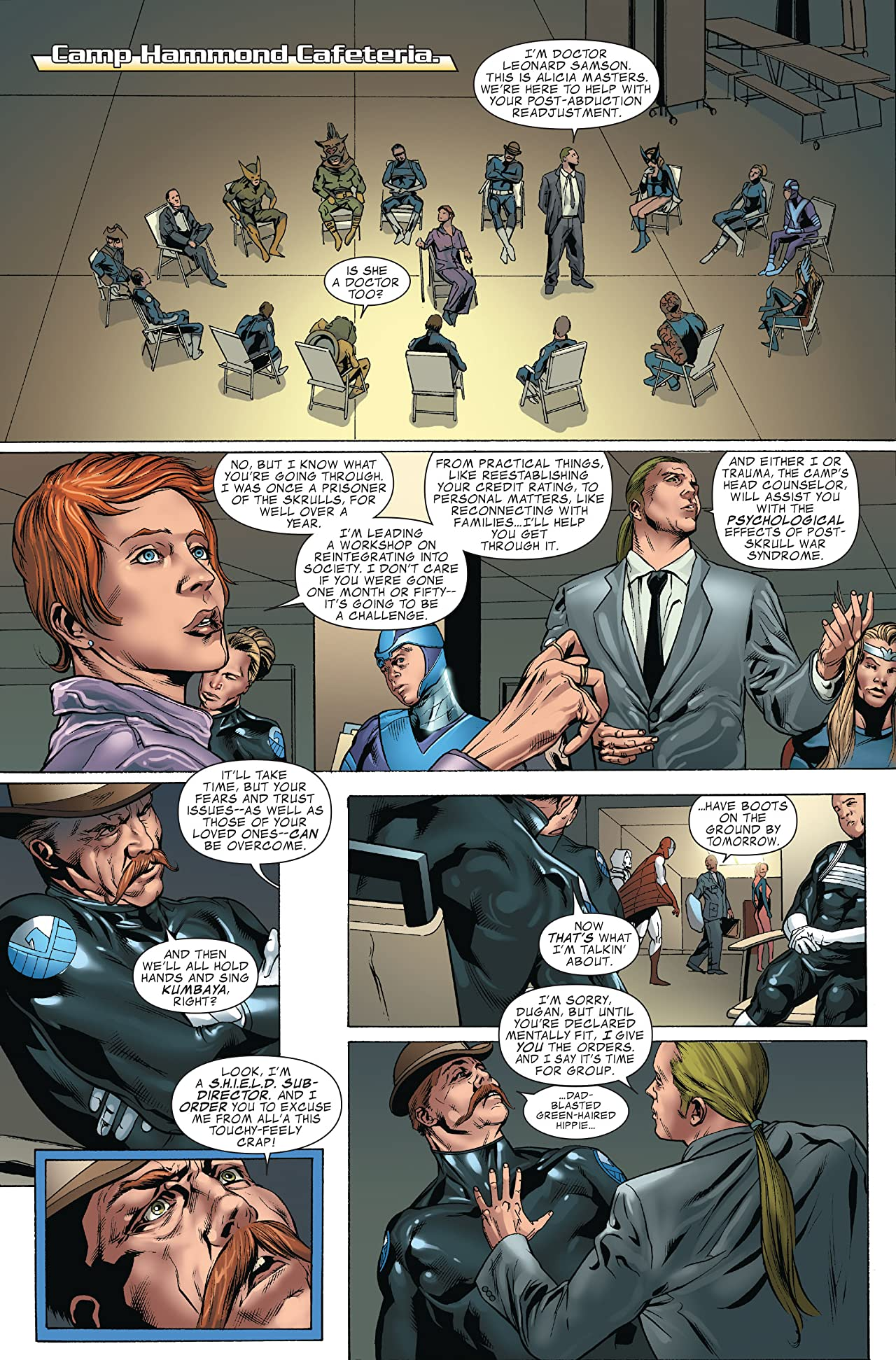 Avengers: The Initiative: Disassembled