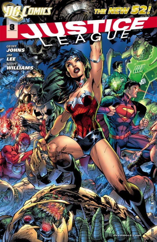 Justice League (2011-) #3