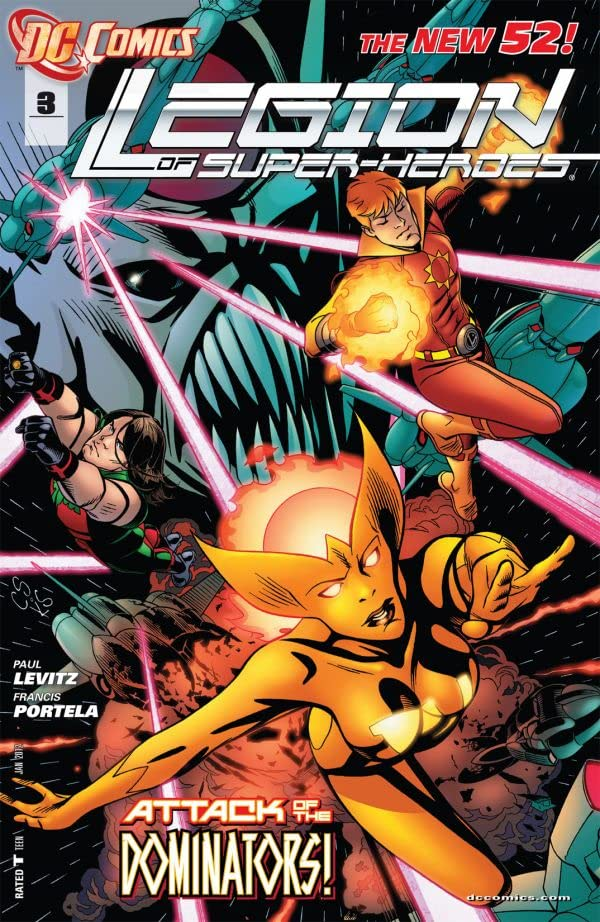 Legion of Super-Heroes (2011-2013) #3