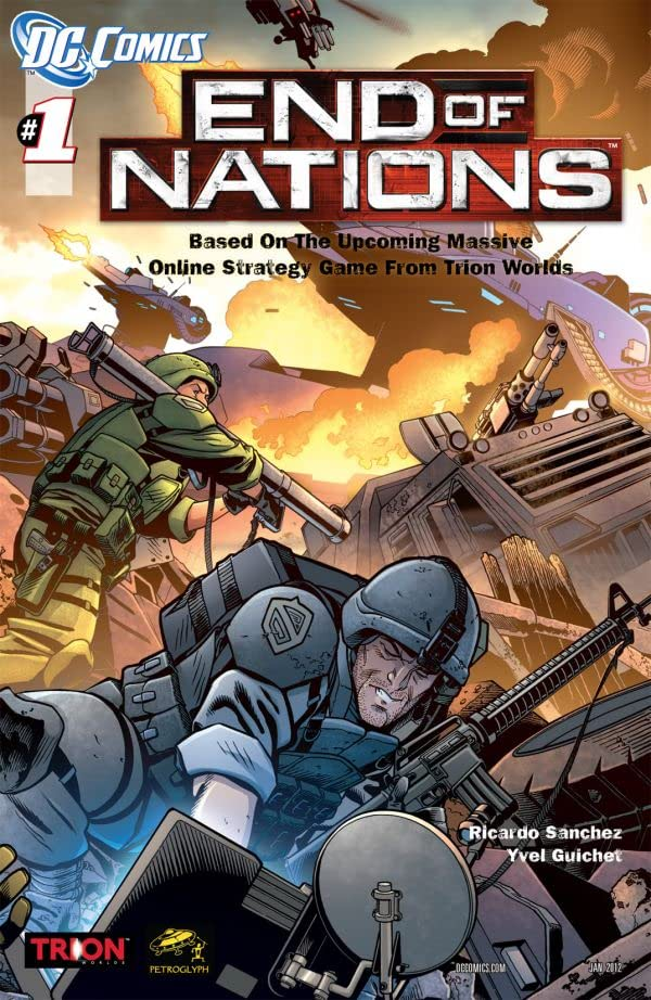 End of Nations #1 (of 4)