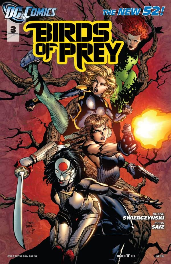 Birds of Prey (2011-2014) #3