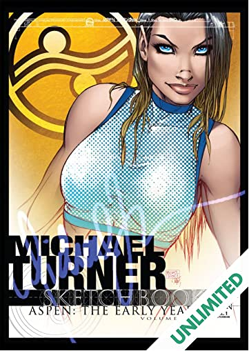 Michael Turner Sketchbook - Aspen: The Early Years