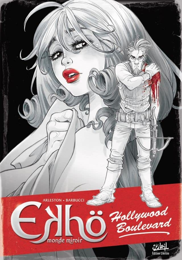 Ekhö monde miroir Vol. 3: Hollywood Boulevard - Tirage spécial noir et blanc