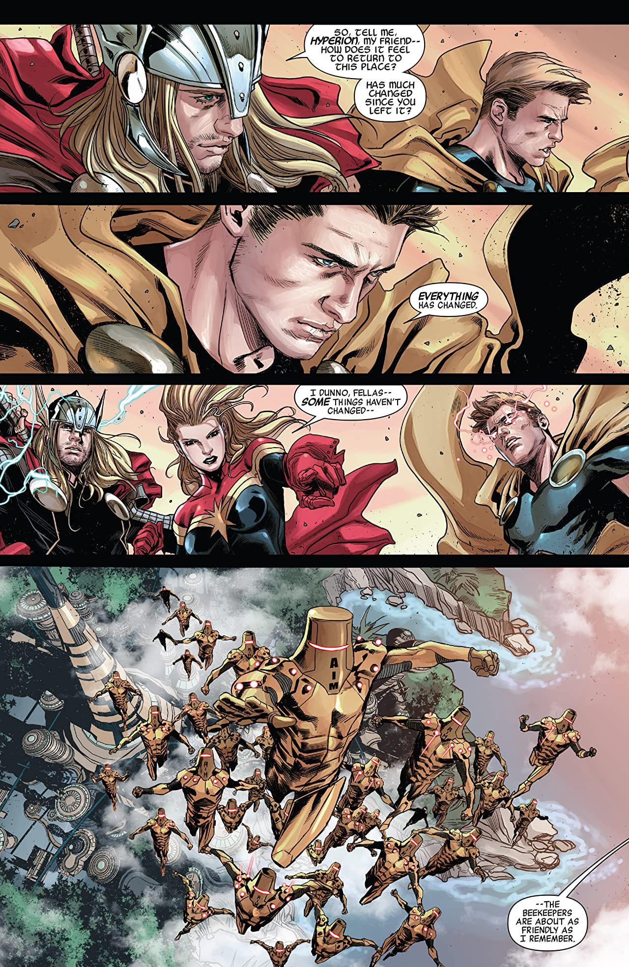 Avengers World Vol. 2: Ascension