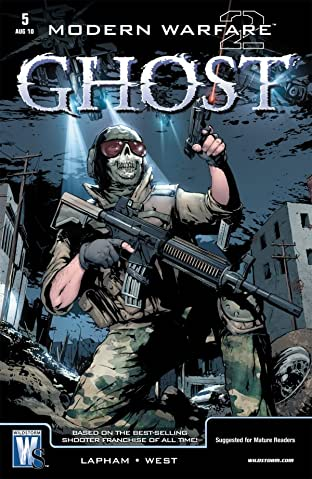 Modern Warfare 2: Ghost #5 (of 6)