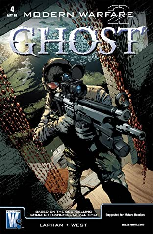 Modern Warfare 2: Ghost #4 (of 6)