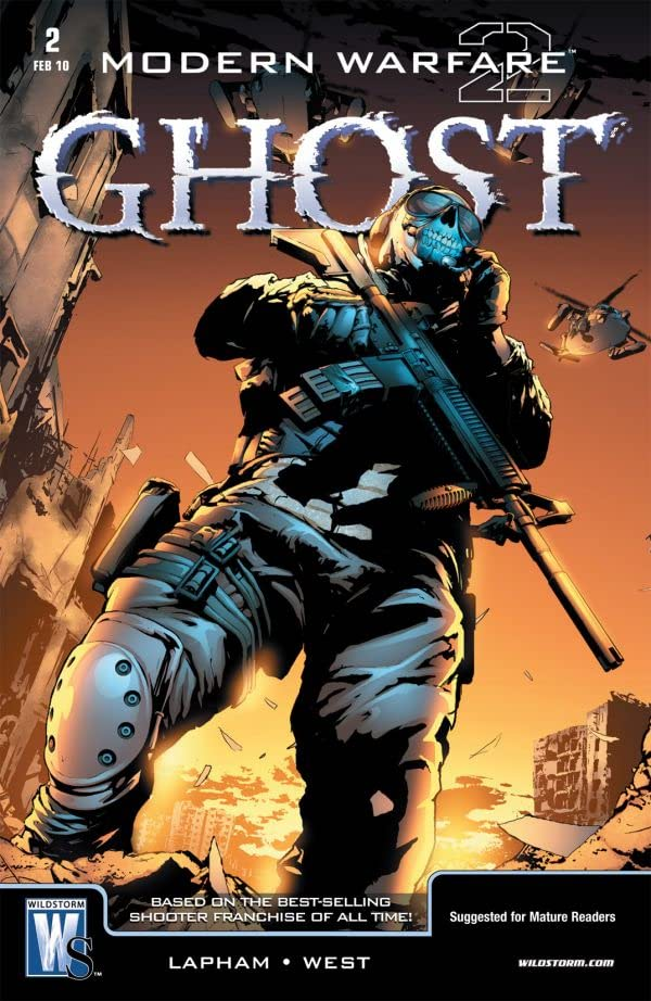 Modern Warfare 2: Ghost #2 (of 6)