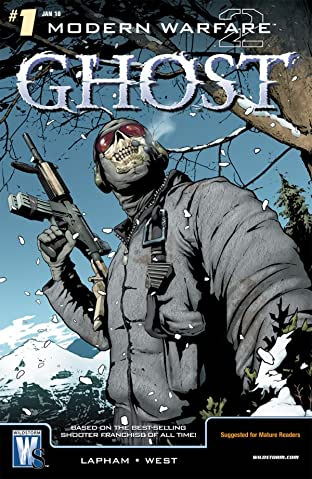 Modern Warfare 2: Ghost #1 (of 6)