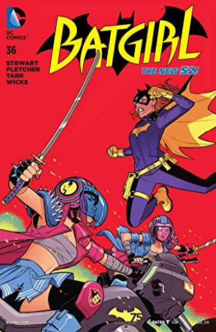 Batgirl (2011-2016) #36