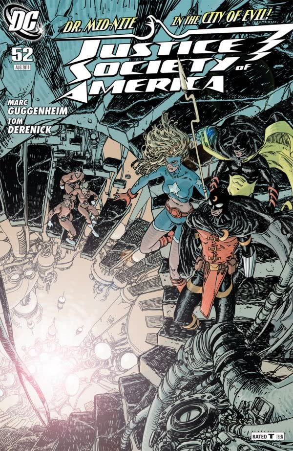 Justice Society of America (2007-2011) #52