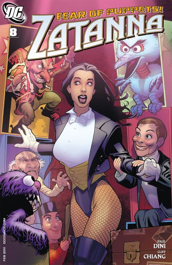 Zatanna (2010-2011) #8