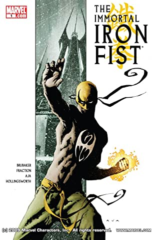 Immortal Iron Fist No.1