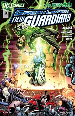 Green Lantern: New Guardians (2011-2015) No.3