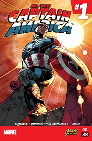 All-New Captain America (2014-2015) No.1