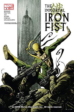 Immortal Iron Fist (2006-2009) No.2