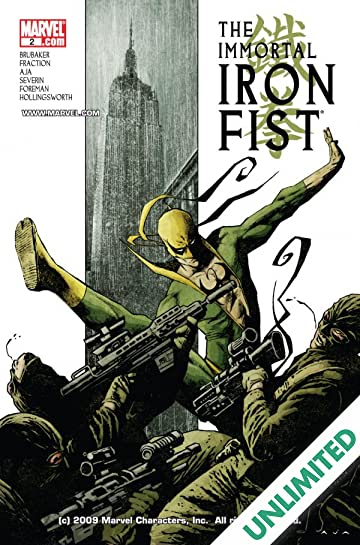 Immortal Iron Fist (2006-2009) #2